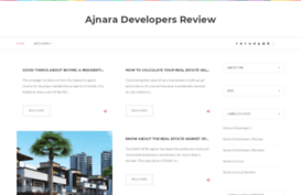 ajnaradevelopersreviews.blogspot.in