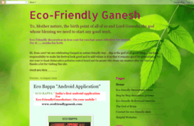 ecofriendlyganesh.blogspot.in
