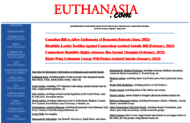 euthanasia a boon or disaster Having said that legalizing passive euthanasia in india is a boon for terminally ill patients who wish to discontinue the life-saving treatment but for the majority interest it is a bane.