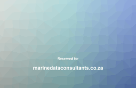 marinedataconsultants.co.za