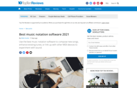 music writing software reviews Review and shopping guide of the best digital audio workstations available today which music production software you need depends on a few factors, such as experience level, usage, and budget.
