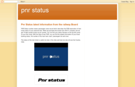 railpnrstatus.blogspot.in
