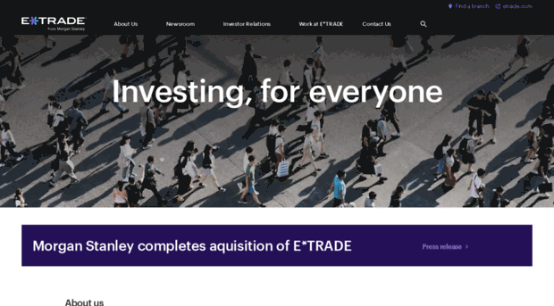 a profile overview of the company etrade Overview of company the fedex strategy to compete collectively and operate independently provides a competitive advantage for our company our broad portfolio of services allows us to meet the needs of our customers, most of whom use services from two or more of our operating companies.