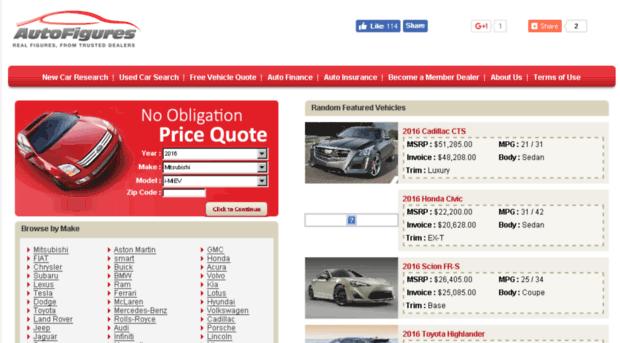 Auto price quotes