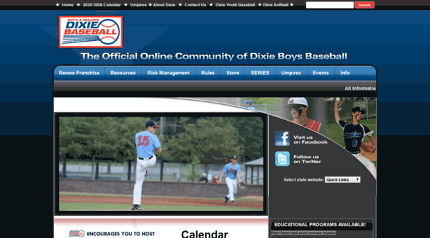 baseball.dixie.org