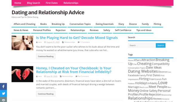relationships dating blog Healthy relationships require space healthy boundaries creating boundaries is a good way to keep your relationship healthy and secure by setting boundaries together, you can both have a deeper understanding of the type of relationship that you and your partner want.