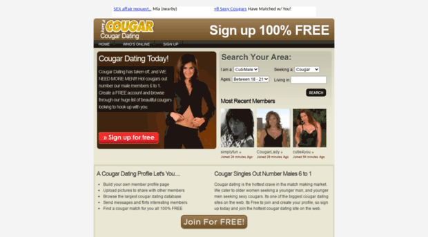 Cougar life dating review