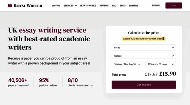 custom essays co uk feedback