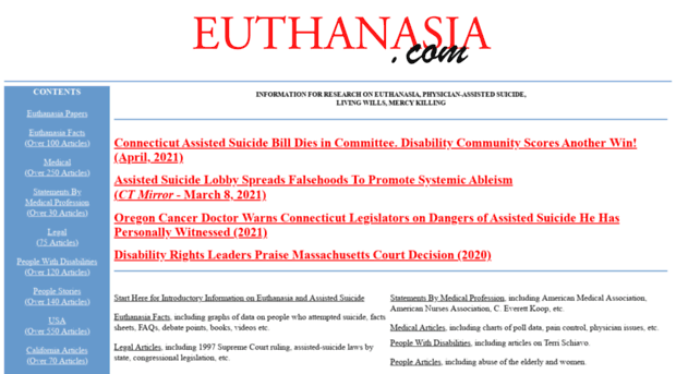 euthanasia the right to die v