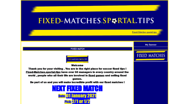 fixed-matches.sportal.tips