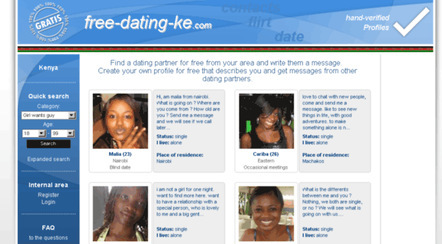 Free chat and email dating sites