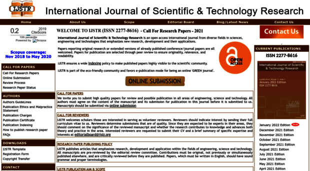 online publishing of research papers