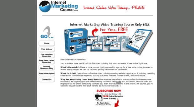 internet marketing 3 essay