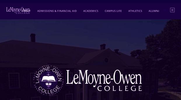 why i choose lemoyne owen college Lemoyne-owen college qep & sacs student informational video 2014 students thank le moyne college donors le moyne college 1,182 views 2:04 choose.