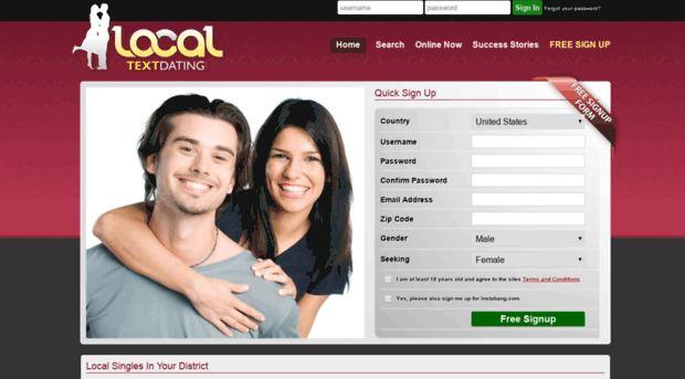 Local dating no sign up