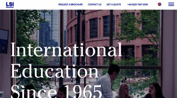 LSI  International education since 1965