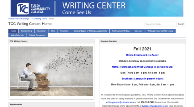 tcc writing center
