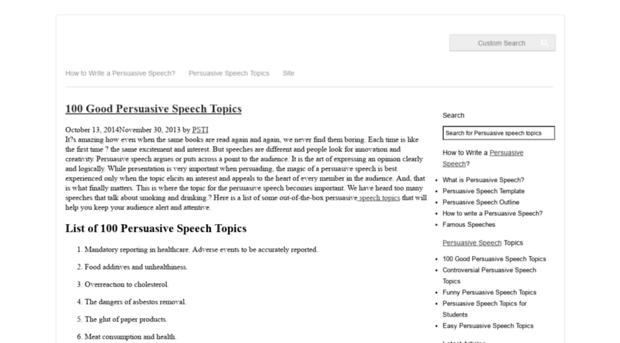 best persuasive speeches in movies