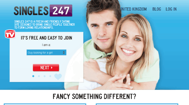 dating website for blind people