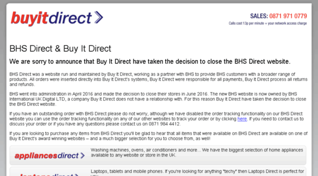 search.bhsdirect.co.uk