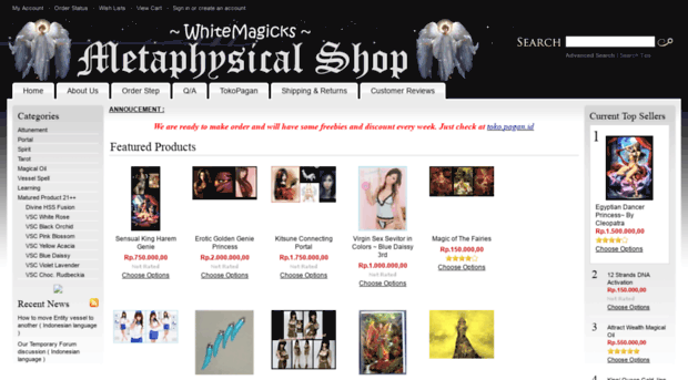 whitemagicks.net