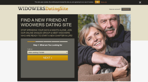 Widower dating site