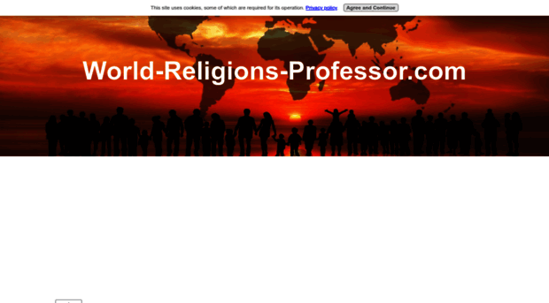 should students learn about world religions in Religion ranks as one of the most divisive factors in the world today yet it has also brought billions of people together forging a sense of shared belief and unity of purpose across wide racial.